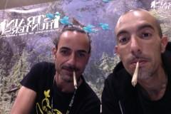 Treating Yourself Expo 2013 - MrX and Franco Wake and Bake