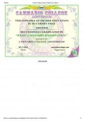 Cannabis College  Diploma