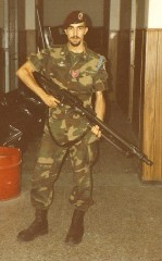 in the Army, 1995