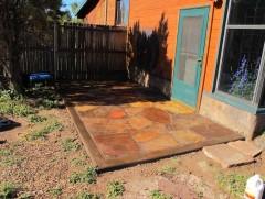 Memorial patio