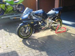 My R1 Track Bike before it was tracked