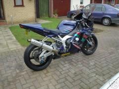 My R1 Track Bike